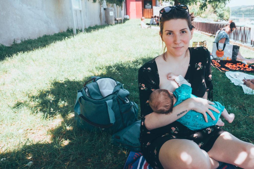 1 mois et demi d'allaitement au lac de Paladru
