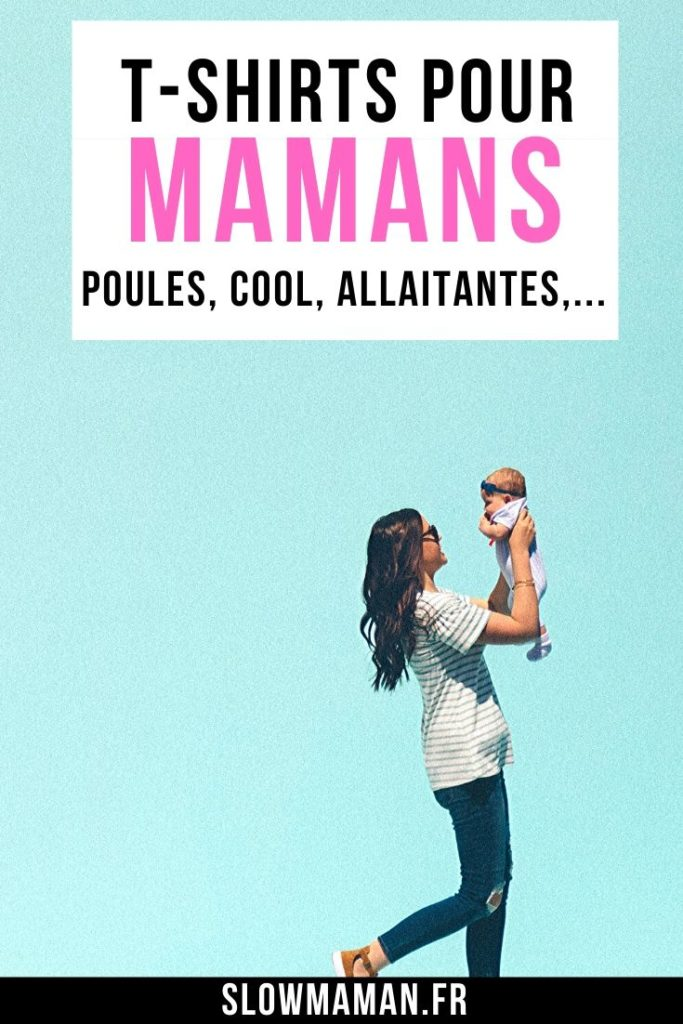 t-shirts à offrir aux mamans