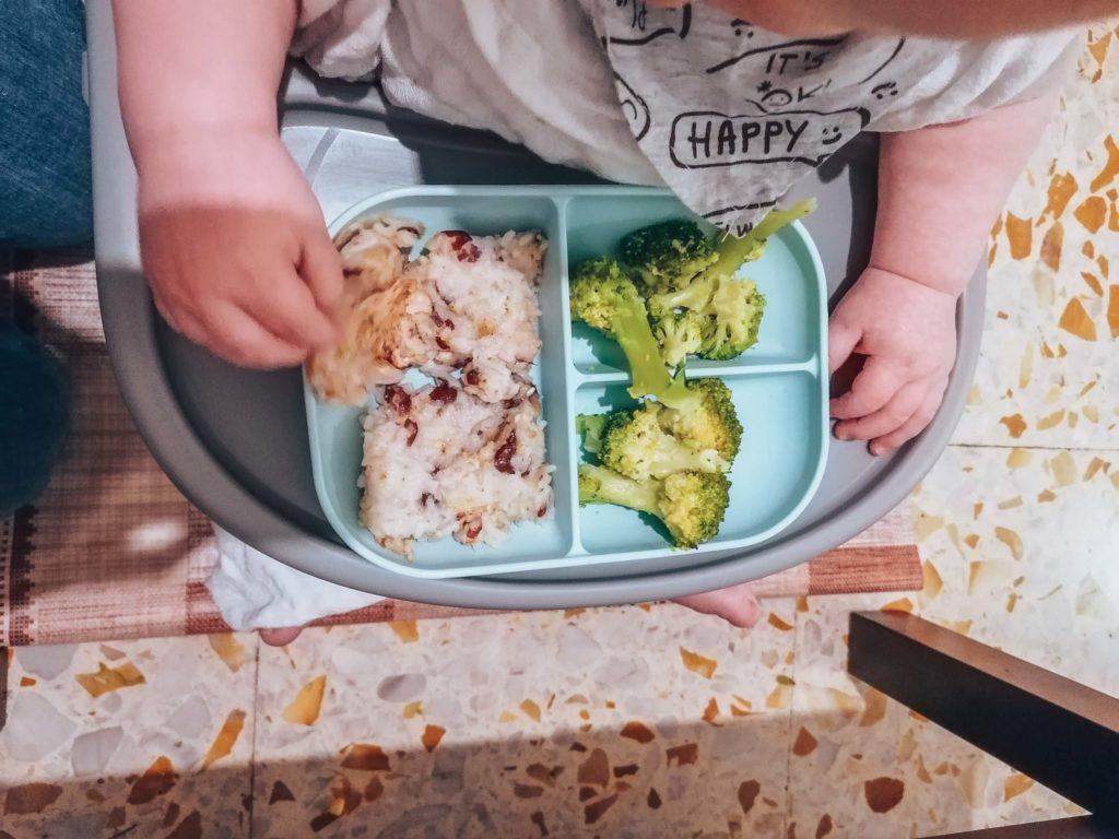 Les légumineuses dans le repas d'un bébé en DME végétalienne