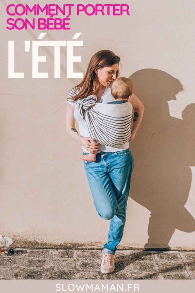 Comment porter son bébé l'été Pinterest