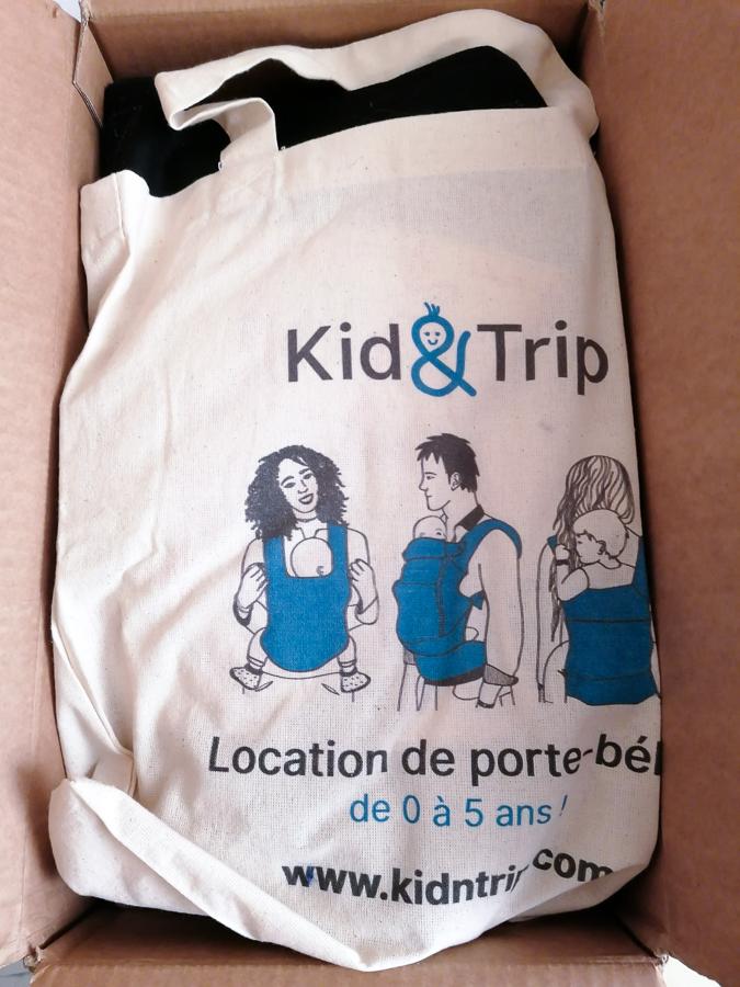 totebag Kidntrip location porte bébé