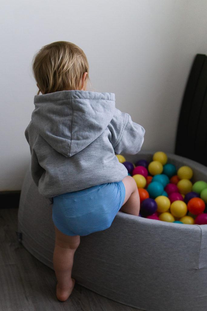 Bébé en couches lavables hamac enfilables 7