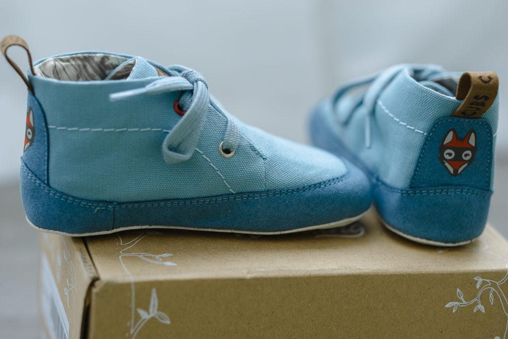 Chaussures souples barefoot pour bébé Wildling Shoes vegan