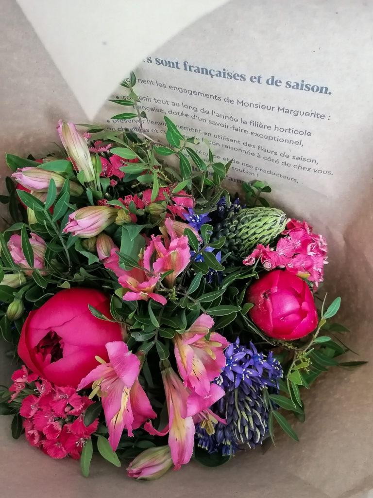 Monsieur Marguerite avis fleurs de saison bouquet surprise-2
