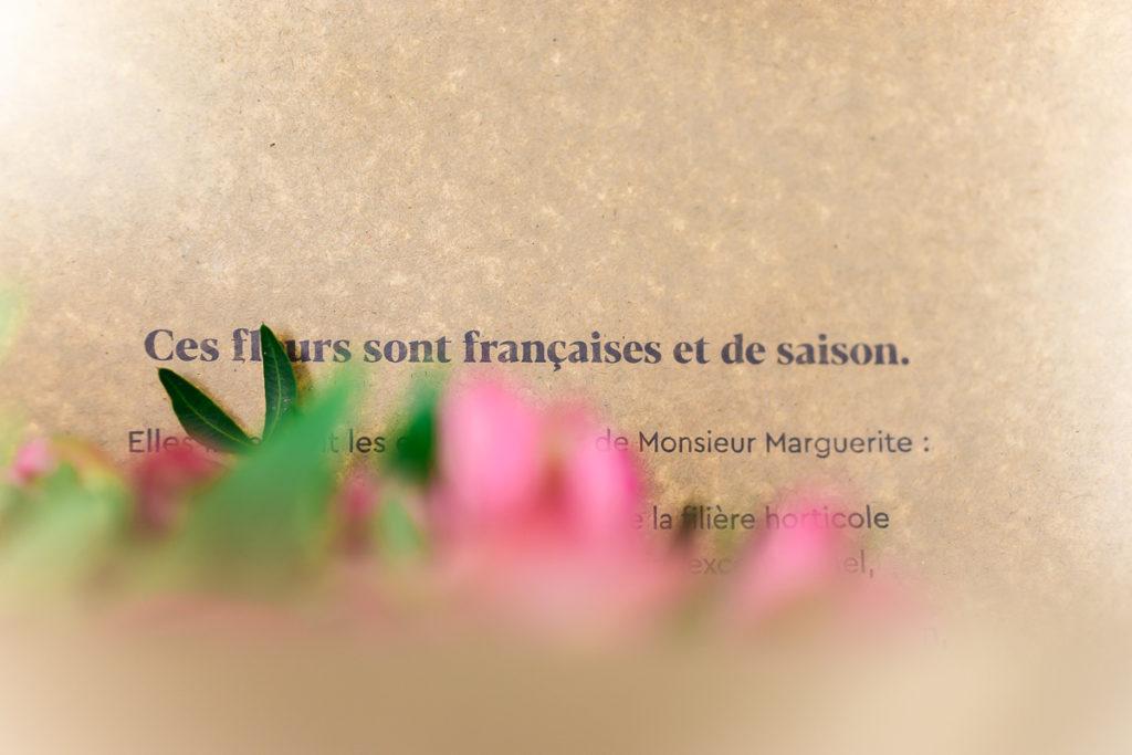 Monsieur Marguerite avis fleurs de saison françaises