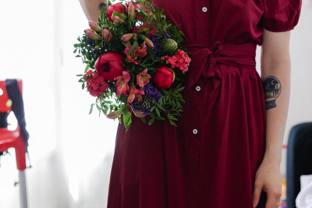 Monsieur Marguerite portrait fleuri