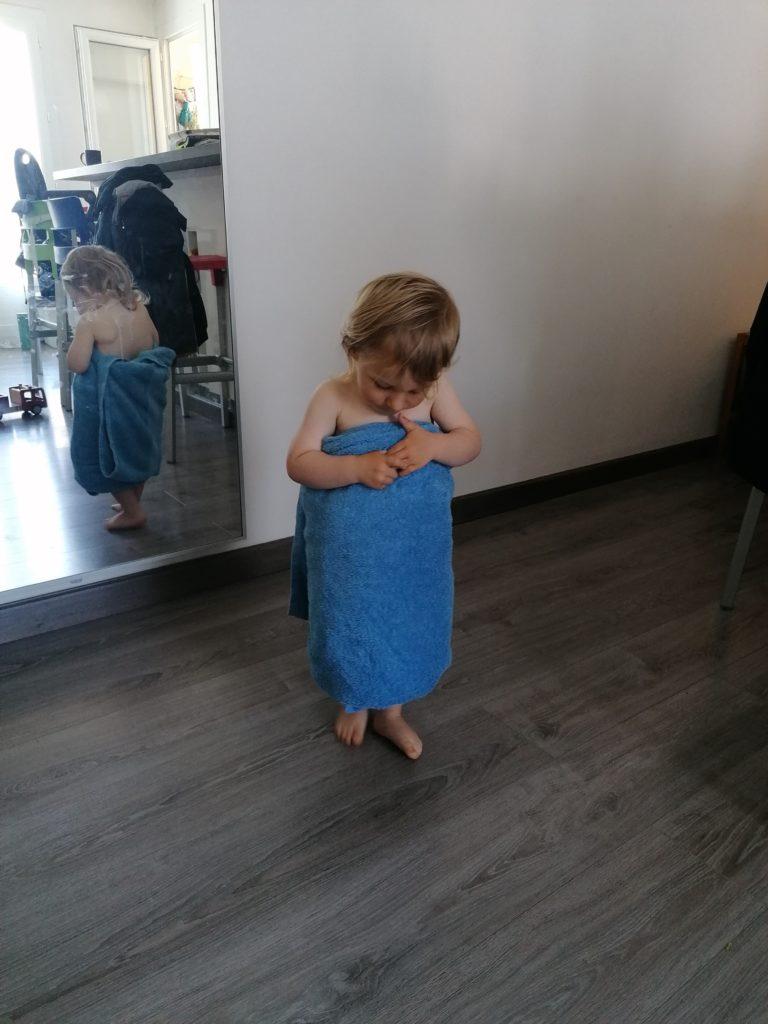 Journée type 2 ans la douche de bébé
