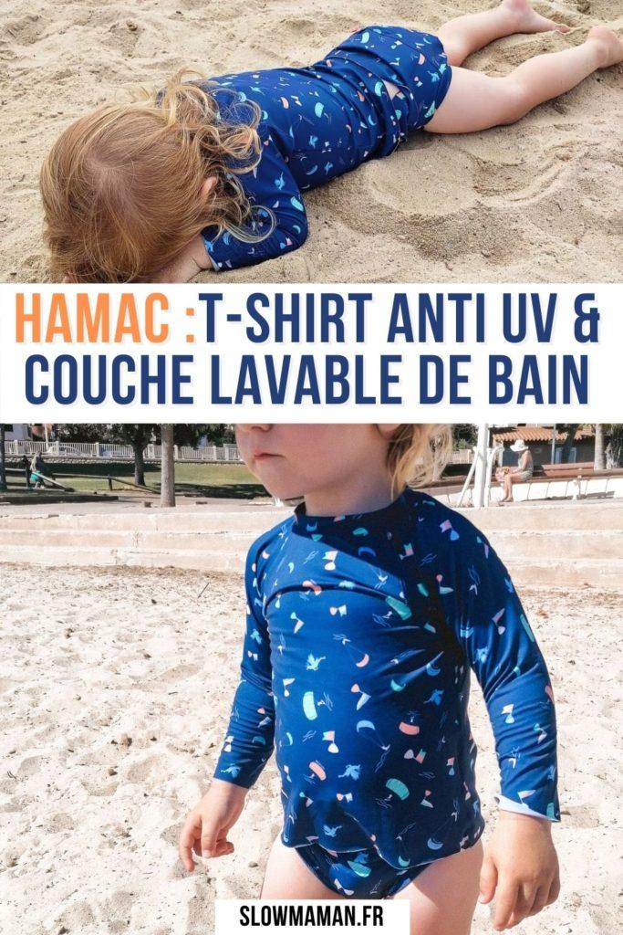 hamac t-shirt anti uv & couche lavable de bain Pinterest